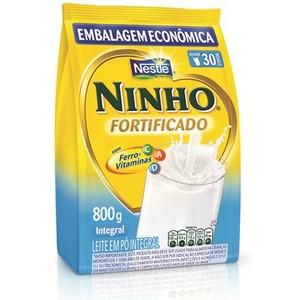 7891000070765 - LEITE EM PÓ INTEGRAL NESTLÉ NINHO FORTI+ PACOTE 800G