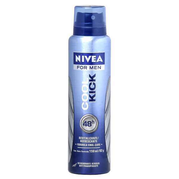 7791969028831 - ANTITRANSPIRANTE AEROSSOL NIVEA MEN COOL KICK 150ML