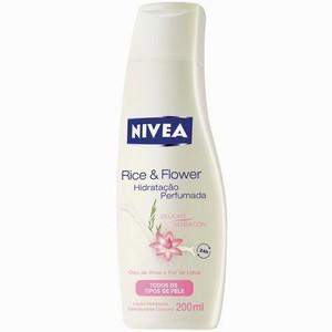4005808309498 - NIVEA RICE E FLOWER ÓLEO DE ARROZ E FLOR DE LOTUS