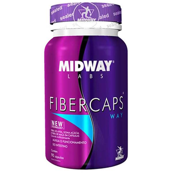 7898008493497 - NUTRICIONAL MIDWAY FIBER CAPS POTE 90 CÁPSULAS
