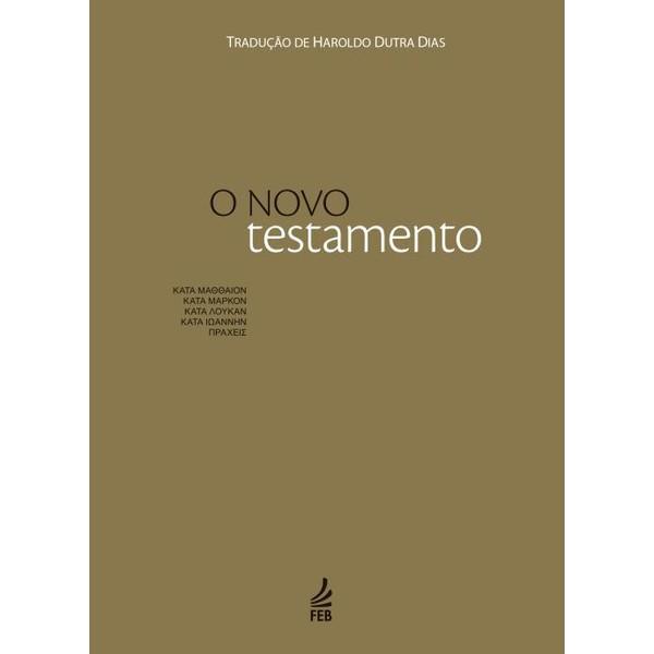 9788573287851 - O NOVO TESTAMENTO - HAROLDO DUTRA DIAS