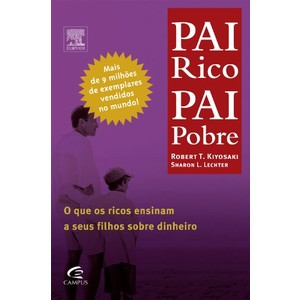 9788535206234 - LIVRO - PAI RICO, PAI POBRE