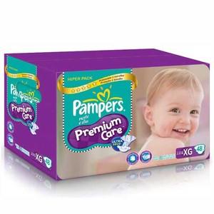 7506309866963 - FRALDA DESCARTÁVEL INFANTIL PAMPERS PREMIUM CARE XG CAIXA 48 UNIDADES