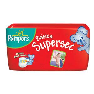 7506195196489 - FRALDA DESCARTÁVEL INFANTIL PAMPERS SUPERSEC XG PACOTE 18 UNIDADES