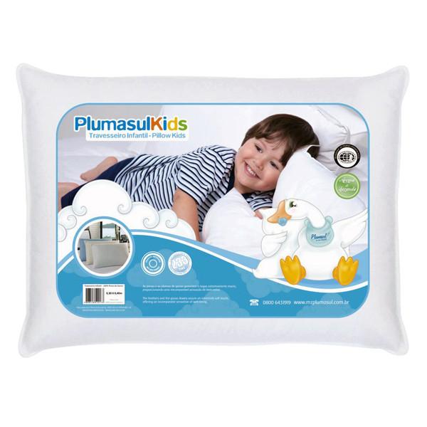 7898128510173 - PENAS DE GANSO PLUMASUL KIDS BABY 30 X 40 CM