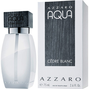 3351500911349 - PERFUME AQUA CEDRE BLANC AZZARO EAU DE TOILETTE MASCULINO