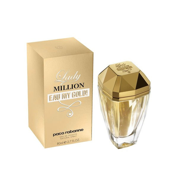 3349668524570 - PERFUME LADY MILLION EAU MY GOLD PACO RABANNE EAU DE TOILETTE FEMININO