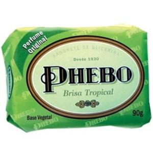 7896512909749 - SABONETE EM BARRA GLICERINADO PHEBO 90G BRISA TROPICAL UNIT