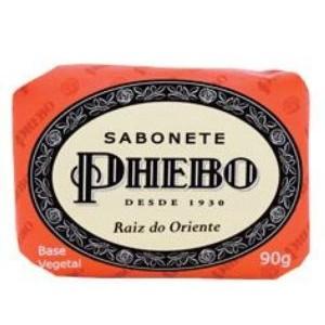 7896512918536 - SABONETE EM BARRA VEGETAL RAIZ DO ORIENTE PHEBO CARTUCHO 90G
