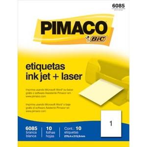 7896041917055 - PIMACO 6085 ADESIVA CARTA 215,9 MM X 279,4 MM 10 ETIQUETAS