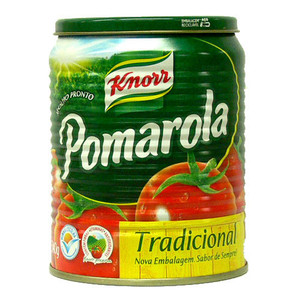7896036094969 - MOLHO DE TOMATE TRADICIONAL POMAROLA LATA 340G