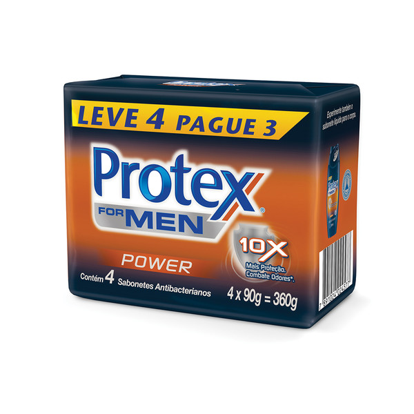 7891024024577 - PROTEX MEN POWER 4 UNIDADES