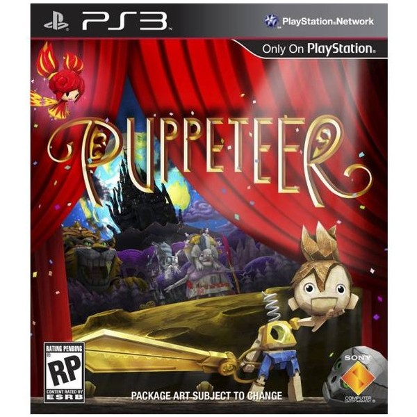 0711719991359 - PUPPETEER PLAYSTATION 3 BLU-RAY
