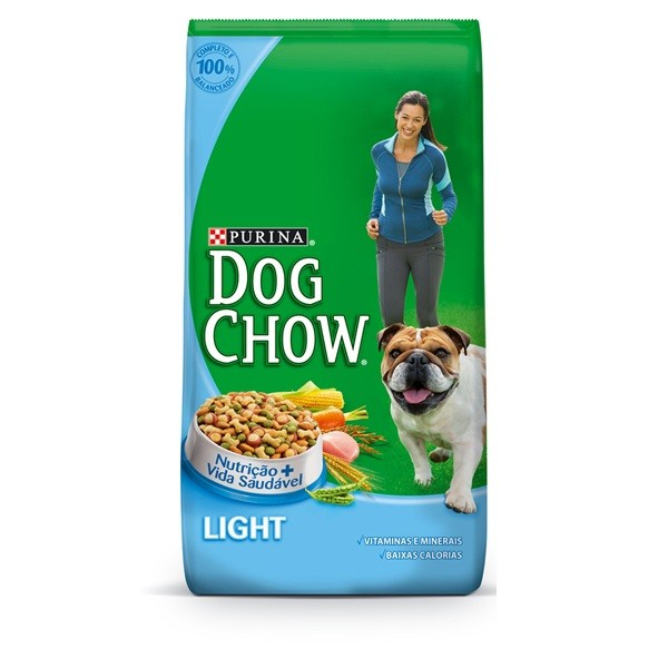 7896015606480 - PURINA DOG CHOW LIGHT PACOTE 10,1 KG