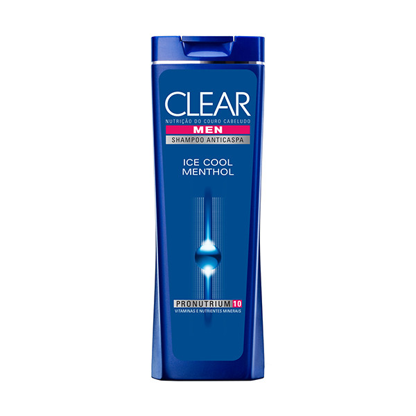 7891150001183 - SHAMPOO ANTICASPA CLEAR MEN ICE COOL MENTHOL 400ML