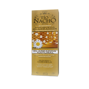 0650240026645 - SHAMPOO ANTI QUEDA TIO NACHO 415ML CLARAS UNIT