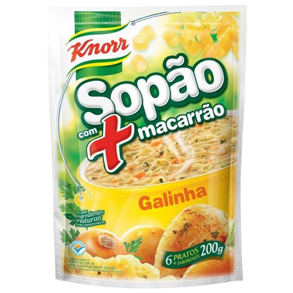 7891700207188 - SOPA KNORR SOPÃO GALINHA