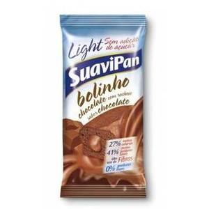 7898115900116 - BOLINHO CHOCOLATE RECHEIO CHOCOLATE SUAVIPAN PACOTE 40G