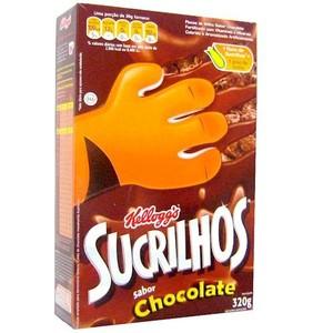 7793306013029 - CEREAL MATINAL CHOCOLATE KELLOGG'S SUCRILHOS CAIXA 320G