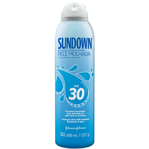 7891010517298 - SUNDOWN SPRAY PELE MOLHADA FPS 30