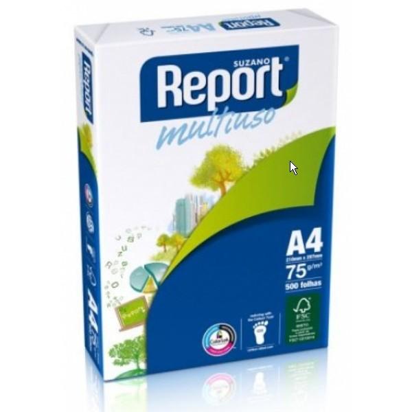 7891191000718 - SUZANO REPORT MULTIUSO /M² SULFITE A4 500 PACOTE