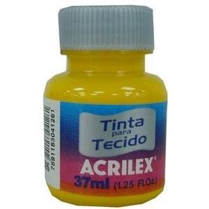 7891153041261 - TECIDO ACRILEX FOSCA AMARELO OURO 505 1 COR