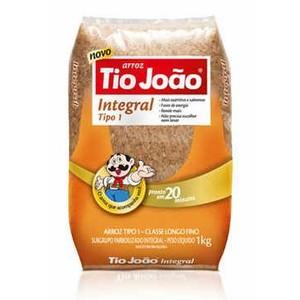 7893500018483 - ARROZ INTEGRAL TIPO 1 TIO JOÃO PACOTE 1KG