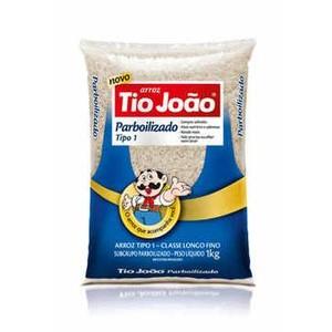 7893500018469 - ARROZ PARBOILIZADO TIPO 1 TIO JOÃO PACOTE 1KG
