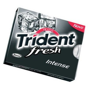 7895800217245 - TRIDENT INTENSE FRESH CARTELA