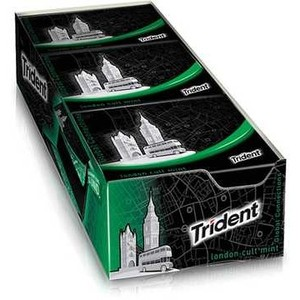 7895800414088 - TRIDENT MENTA 12 UNIDADES CONNECTIONS LONDON CULT