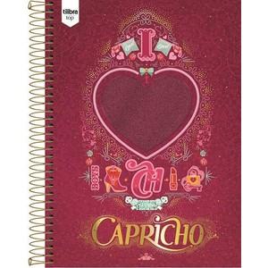 7891027137700 - CADERNO UNIVERSITÁRIO ESPIRAL CAPRICHO 200 FOLHAS 870G TILIBRA