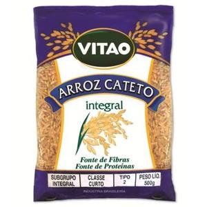7896063244641 - ARROZ AGULHINHA TIPO 1 INTEGRAL VITAO PACOTE 500G
