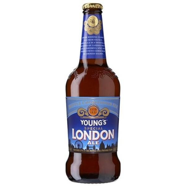 5011876000686 - YOUNG´S SPECIAL LONDON ALE ENGLISH BROWN ALE GARRAFA 1 UNIDADE